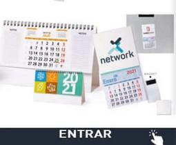 Calendarios promocionales baratos personalizados
