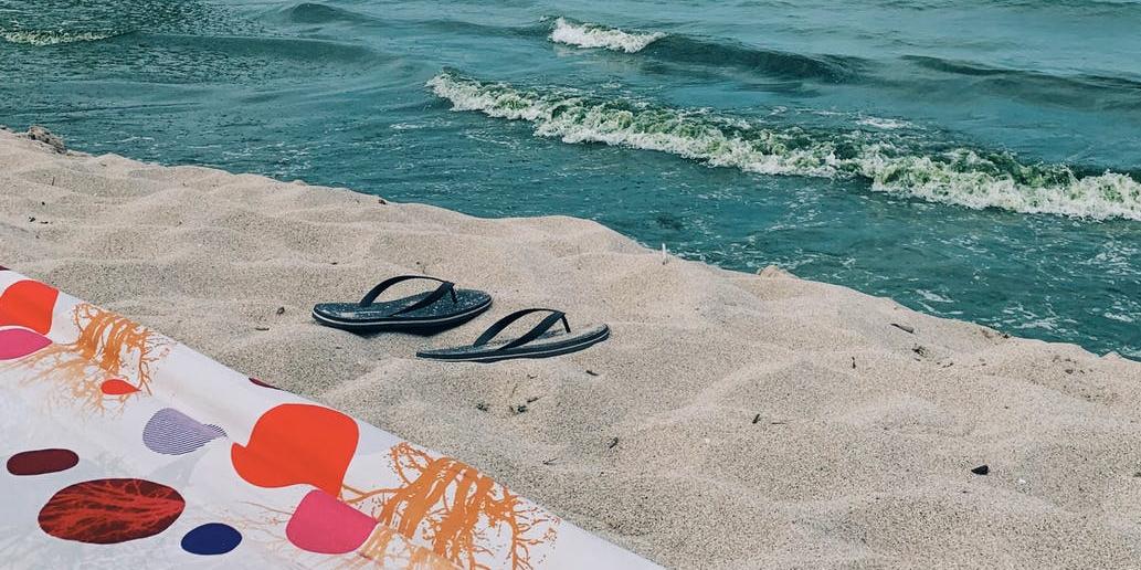 Chanclas personalizadas para la playa